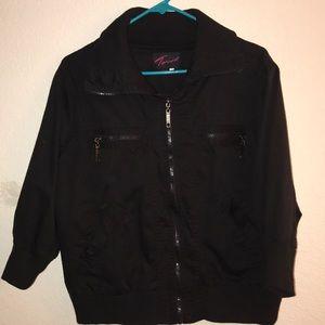 Torrid quarter sleeve jacket